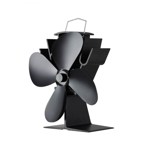 334 4 blade stove fan heat powered
