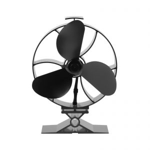 353 3 blade heat powered stove fan