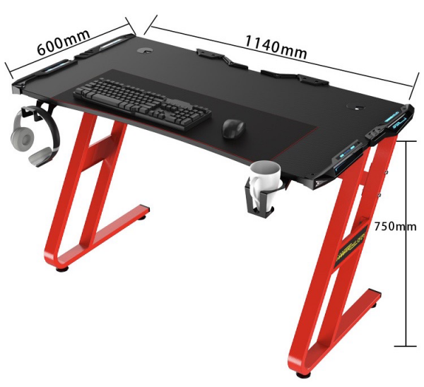Gaming Desk Dimensions Web